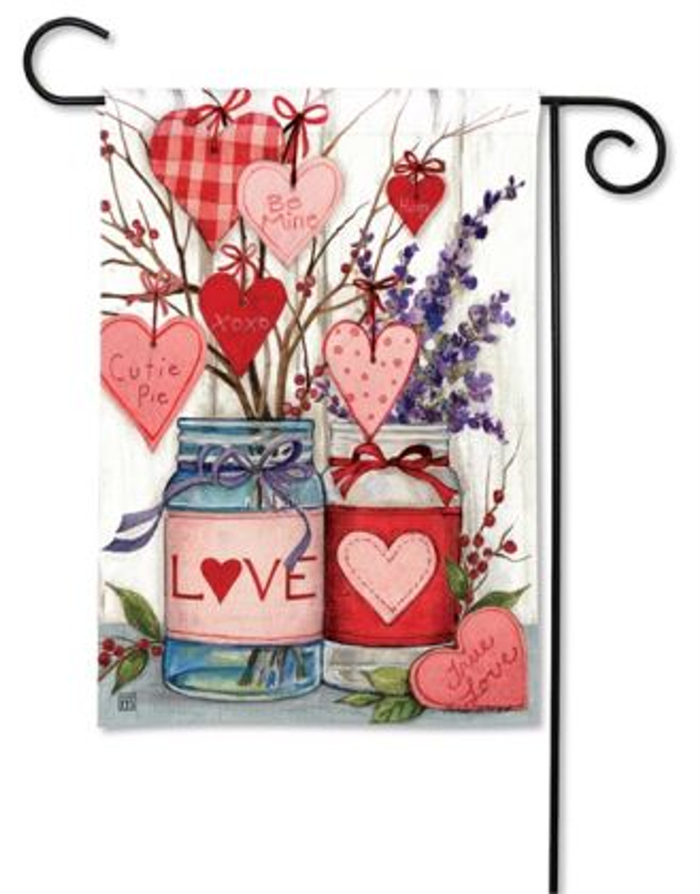 Filled With Love Garden Flag By Breezeart Flags 12 5 X 18 Garden Flags