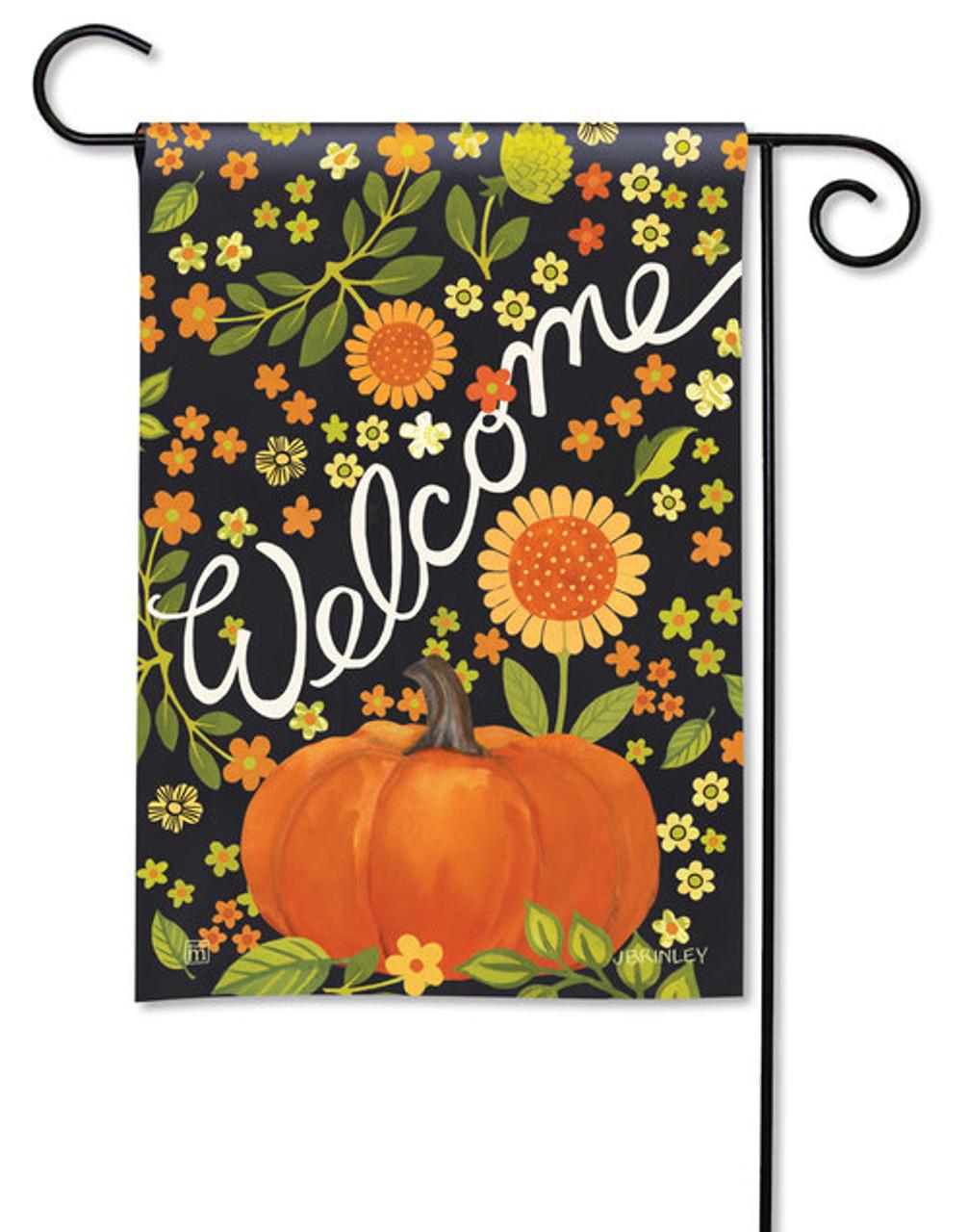 Autumn Meadow Garden Flag By Breezeart 12 5 X 18 Garden Flags