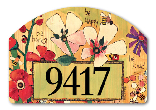 Yard Designs Magnetic Home Address Signs