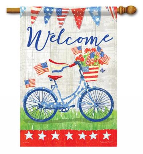 3e26458bba29 Patriotic Bike Ride House Flag - 28