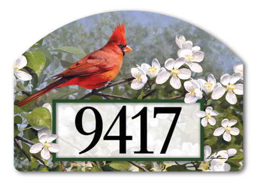 Yard Designs Magnetic Home Address Signs And Plaques
