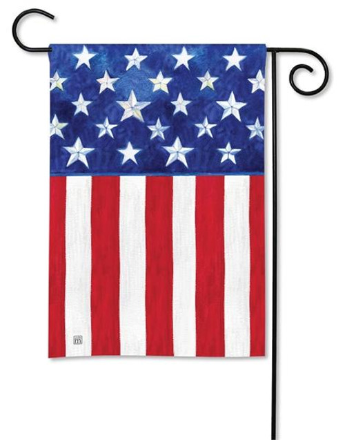 810491899b6b Unique USA Patriotic Garden Flags Add to Outdoor Yard Decorations