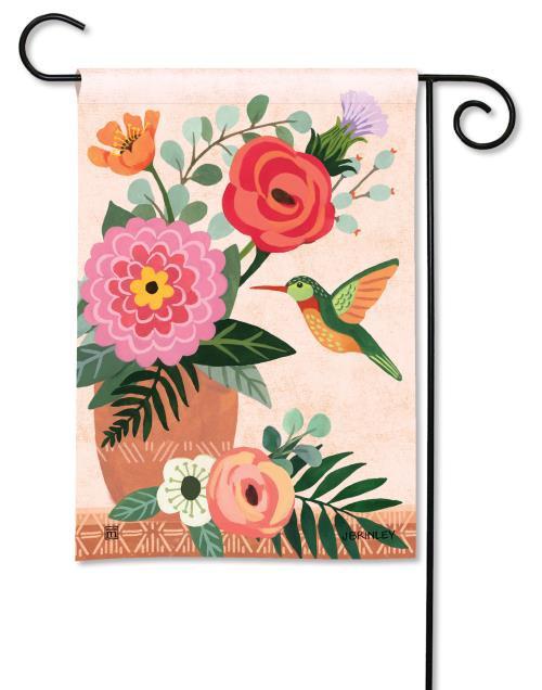 "Summer Sun Applique Garden Flag Welcome Sunshine 12.5/"" x 18/"""