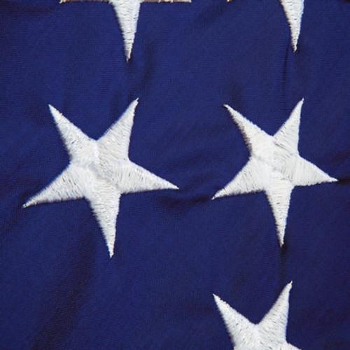 "Standard Size Holiday Monogram Applique Flag 28/"" x 44/"""