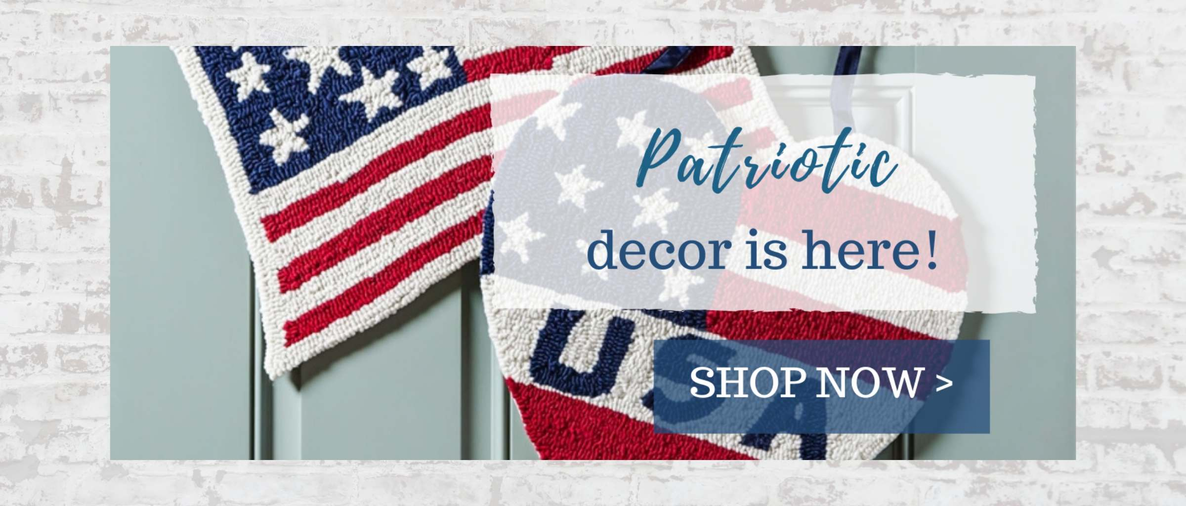 Shop New Patriotic Flags and Decor