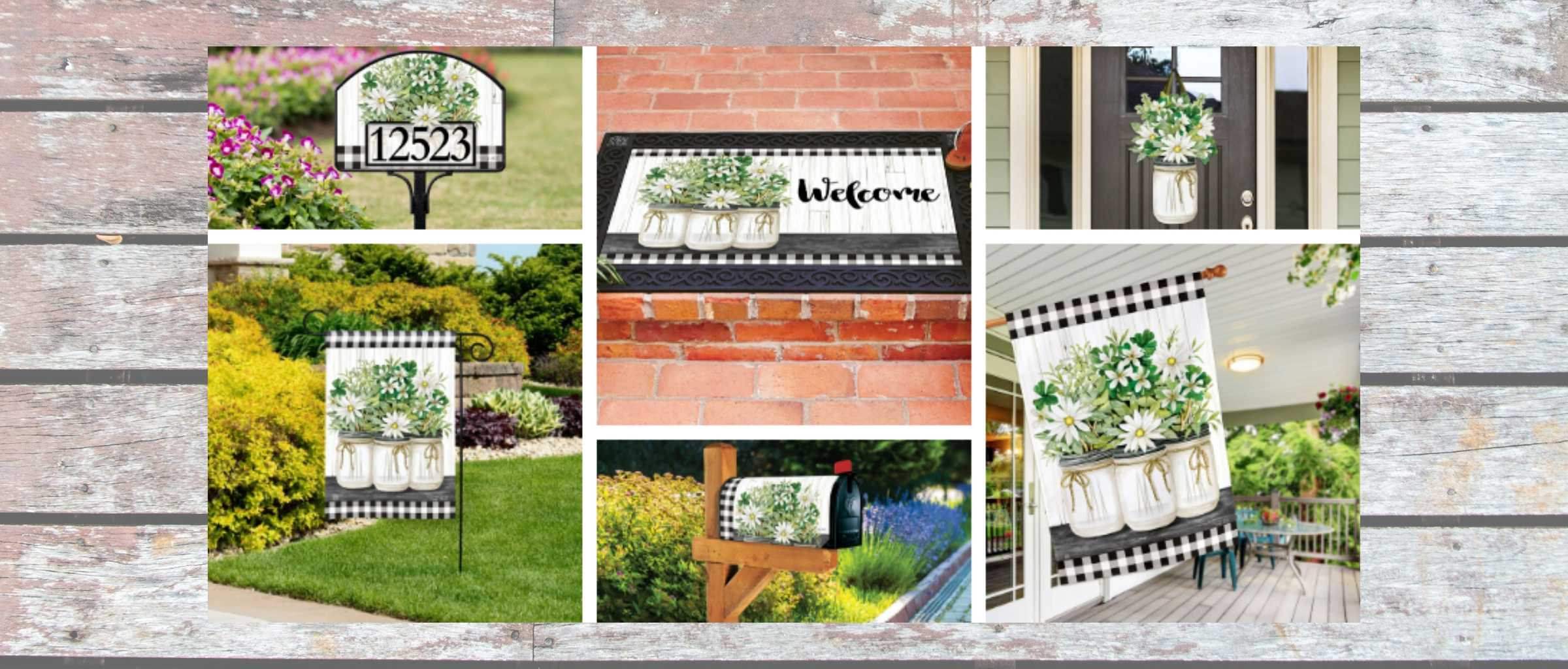 Garden Flags and Decorative House Flags