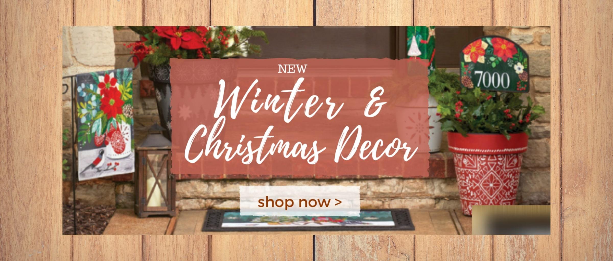 New Winter and Christmas Decor