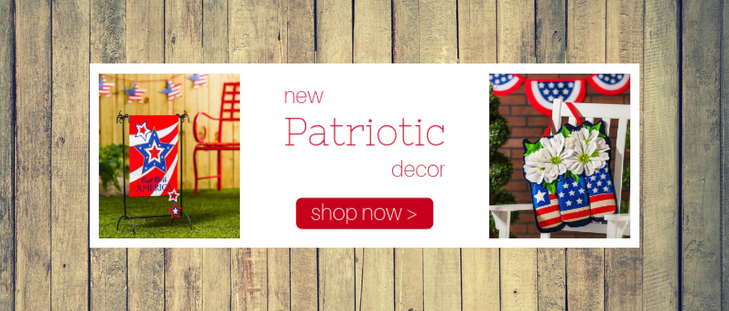 Patriotic Flags & Decor