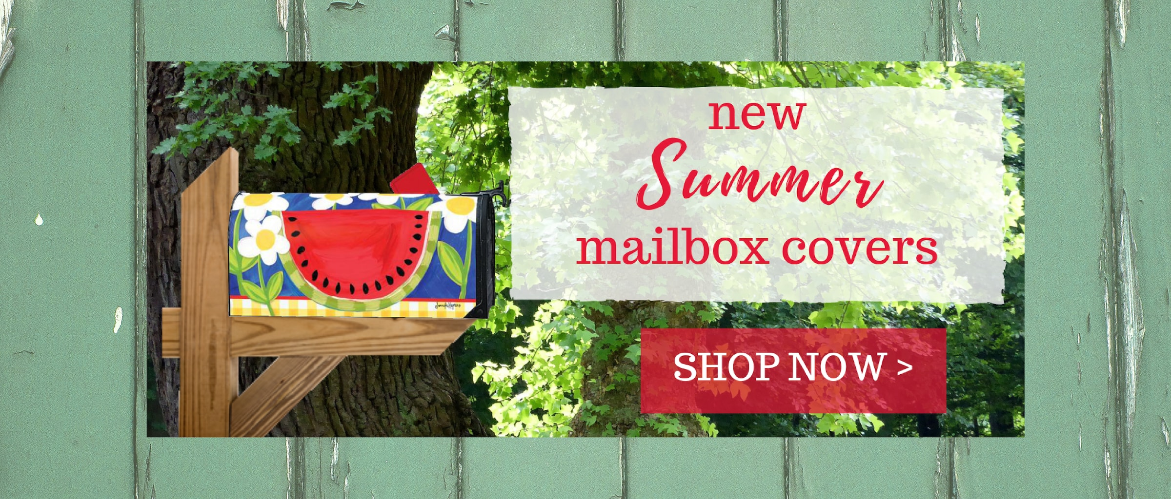 Summer Magnetic Mailbox Covers