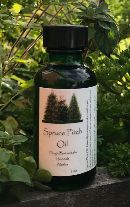 Spruce Pitch Oil 1oz
