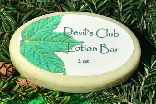 Devil's Club Lotion Bar 2oz