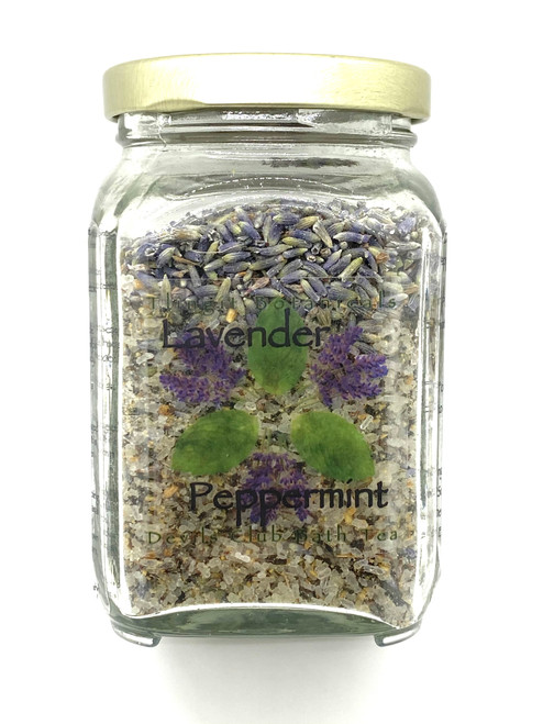 Lavender Peppermint Devils Club Bath Salt Tea - 10oz