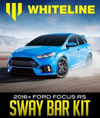 WHITELINE SWAY BAR KIT: 2016+ FORD FOCUS RS