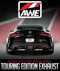 AWE TUNING RESONATED TOURING EDITION EXHAUST: 2020 TOYOTA GR SUPRA