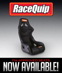 RACEQUIP FIA APPROVED SEATS NOW AVAILABLE!