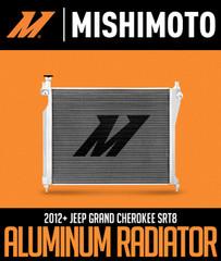 MISHIMOTO ALUMINUM RADIATOR: 2012+ JEEP GRAND CHEROKEE SRT8