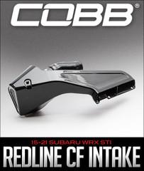 COBB TUNING REDLINE CARBON FIBER INTAKE: 2015–2021 SUBARU WRX STI