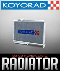 KOYORAD ALUMINUM RADIATOR: 1992–2000 HONDA CIVIC