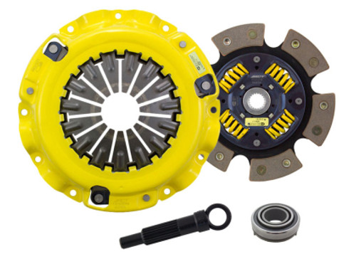 ACT XT/Race Sprung 6 Pad Clutch Kit Mitsubishi Eclipse 90-99