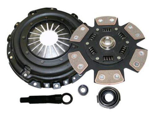 Comp Clutch Stage 4 - 6 Pad Ceramic Clutch Kit Mitsubishi Eclipse 90-99