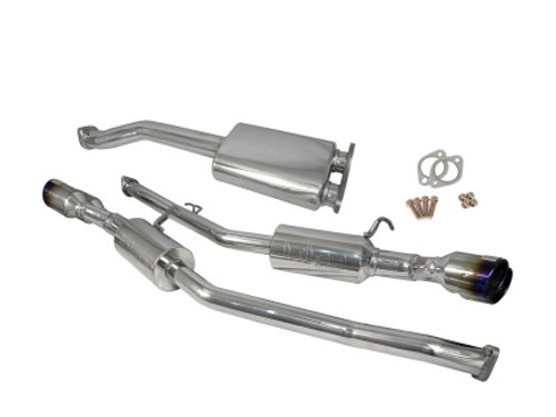 Injen SS Exhaust w/ 76mm Y-Pipe Resonator/Molded SS Flanges 10-13 Hyundai Genesis Coupe 2.0L(t) 4cyl