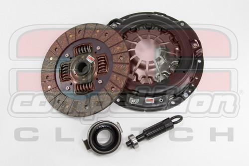 Comp Clutch Stage 2 - Steelback Brass Plus Clutch Kit Acura Integra 94-01 & Honda Civic SI 99-00