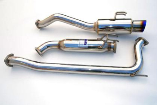 Invidia 70mm RACING Titanium Tip Cat-back Exhaust 06+ Civic Si 2dr ONLY