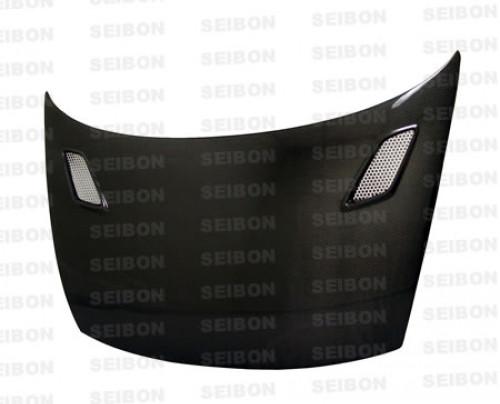 Seibon MG Carbon Fiber Hood 06-10 Honda Civic 2 Dr