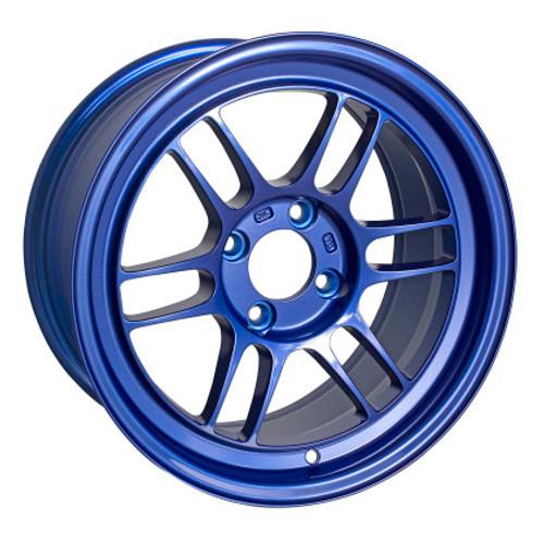 Enkei RPF1 15x8 4x100 28mm Offset 5 Hub Bore Victory Blue Wheel - 11.64Lbs