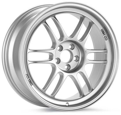 Enkei RPF1 15x7 4x100 41mm Offset 73mm Bore Silver Wheel