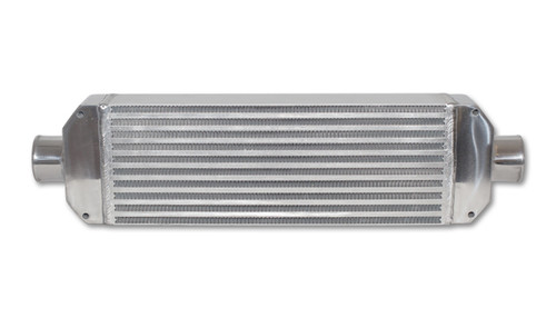 Vibrant Intercooler Air-to-Air IC Assy complete w/ end tanks core size 18in Wx6.5in Hx3.25in thick 2.5in in/out