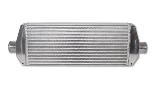 Vibrant Intercooler Air-to-Air IC Assy complete w/ end tanks core size: 22in Wx9in Hx3.25in thick 2.5in in/out