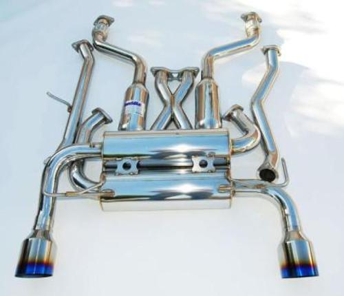Invidia Gemini Single Layer Titanium Tip Cat-back Exhaust 02-08 Nissan 350z