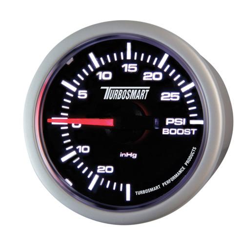 Turbosmart Boost Gauge 0-30psi 52mm - 2 1/16