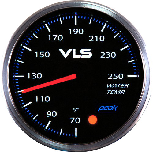 Revel VLSII Water Temperature 52mm Analog Gauge