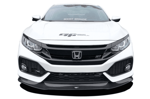 GReddy  Front Lip Spoiler - Carbon 2017+ Honda Civic Si Coupe/Sedan