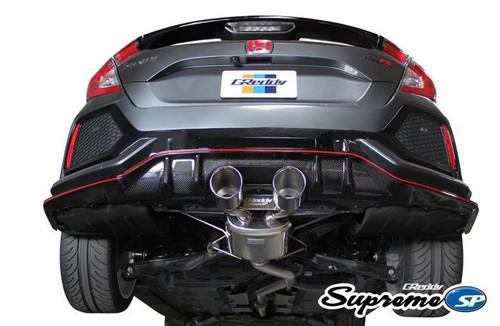 GReddy Supreme SP Exhaust 17+ Honda Civic Type-R