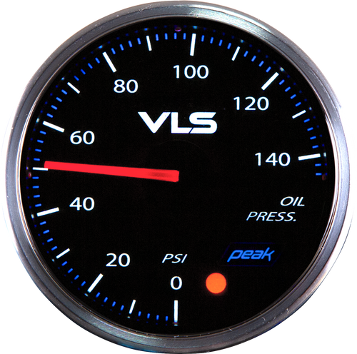 Revel VLSII Oil Pressure 52mm Gauge