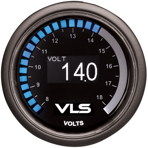 Revel VLS 52mm Voltage Gauge