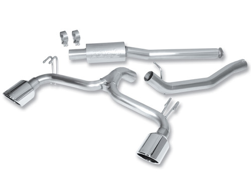 Borla Catback Exhaust 09-15 Mitsubishi Lancer Ralliart 2.0L 4cyl MT 6spd AWD