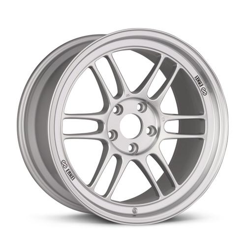 Enkei RPF1 17x8 5x114.3 35mm Offset 73mm Bore Silver Wheel Evo 8/9