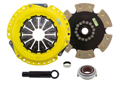 ACT XT/Race Rigid 6 Pad Clutch Kit 2002+ Acura RSX & Honda Civic SI 02-11