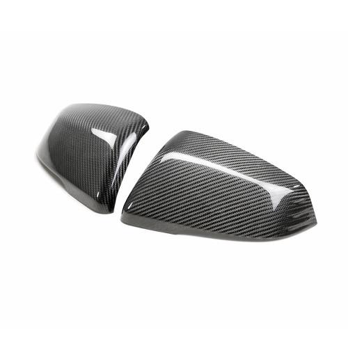 Seibon Carbon Fiber Mirror Caps 2020 Toyota GR Supra