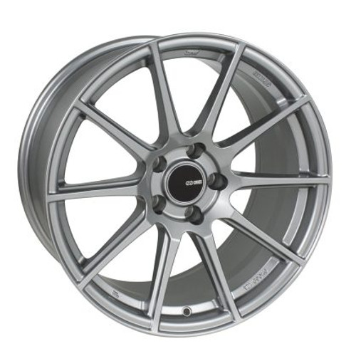 Enkei TS10 17x8 5x100 45mm Offset 72.6mm Bore Grey Wheel