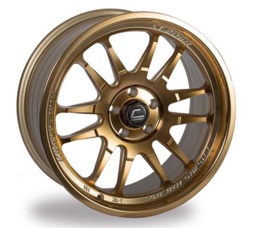Cosmis Racing XT-206R Hyper Bronze Wheel 18x9 +33mm 5x114.3