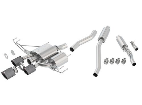 Borla 17-20 Honda Civic Type R 2.0L 2.75in Atak Adjustable Catback Exhaust (Carbon Fiber Black Tip)