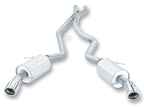 Borla 07-10 BMW 335i coupe/sedan aggressive catback exhaust system