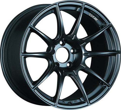 SSR GTX01 17x9 5x114.3 38mm Offset Flat Black Wheel