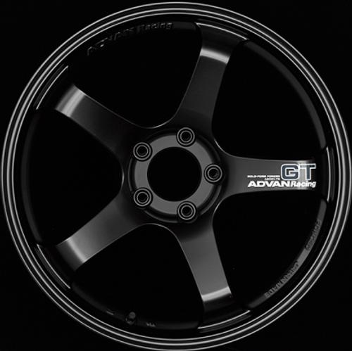 Advan GT 19x10.5 +15mm 5-114.3 Racing Semi Gloss Black Wheel
