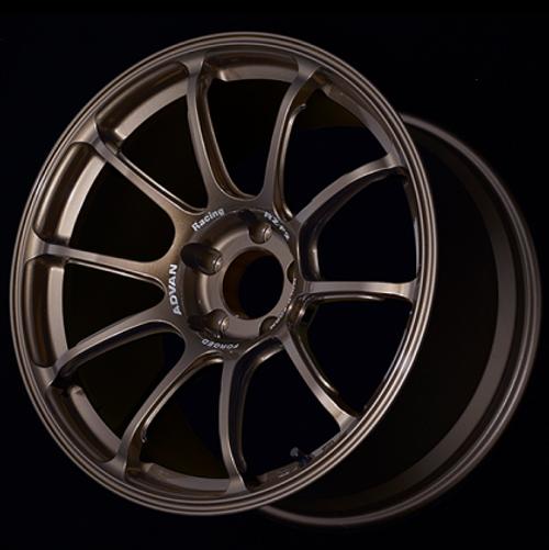 Advan RZ-F2 18x9.5 +12 5-114.3 Racing Umber Bronze Wheel